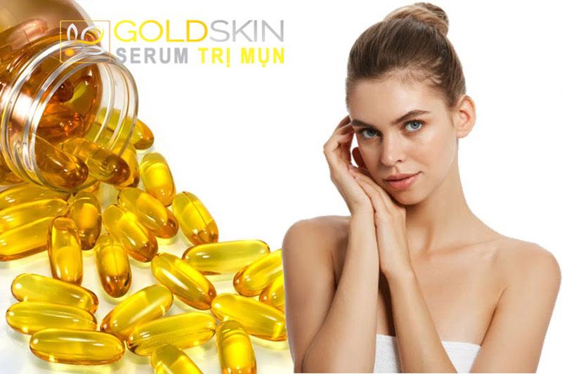 Có thể sử dụng viên thuốc vitamin E để trị mụn đầu đen và cả vết thâm vào mỗi tối