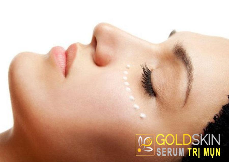 Kem mắt giúp chống lão hóa gây ra nếp nhăn, bọng mắt và quầng thâm