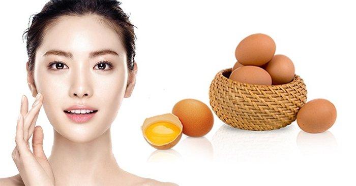Sử dụng trứng gà để trị mụn ẩn tại nhà