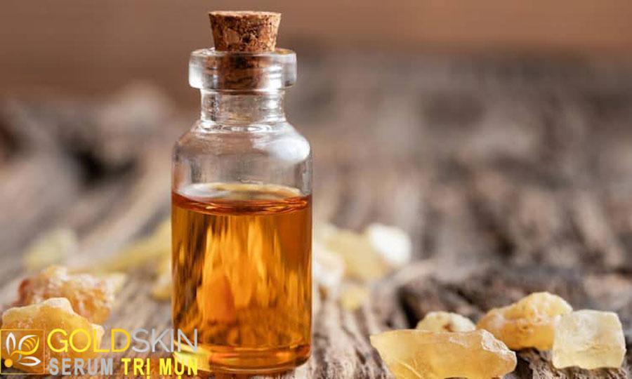 Thành phần hoạt chất boswellic acid trong hương trầm đã được chứng minh là có lợi ích chống viêm.