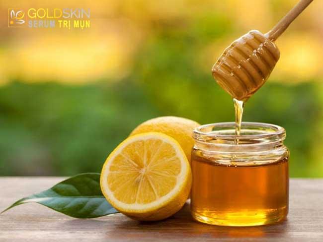 Chanh với mật ong