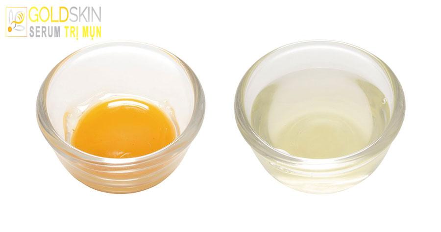 Trứng gà thực sự có thể hút mụn đầu đen?