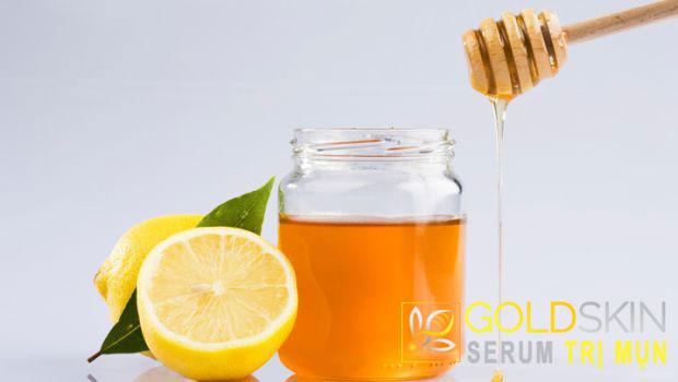 Chanh và mật ong giúp giảm sưng chống viêm của mụn bọc