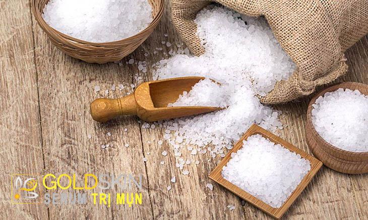 muối có chứa các khoáng chất có lợi cho làn da