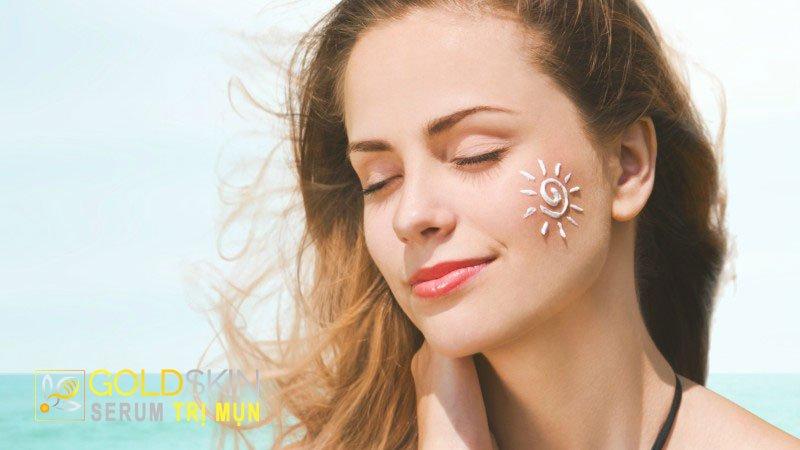 Bước 7: Bảo vệ da với kem chống nắng
