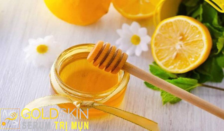 Chanh và mật ong là bộ đôi trị thâm và mụn ẩn vô cùng hiệu quả tại nhà