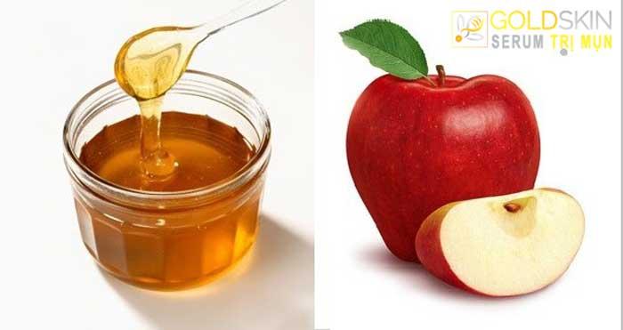 Đừng bỏ qua công thức trị mụn bằng mật ong và táo nhé