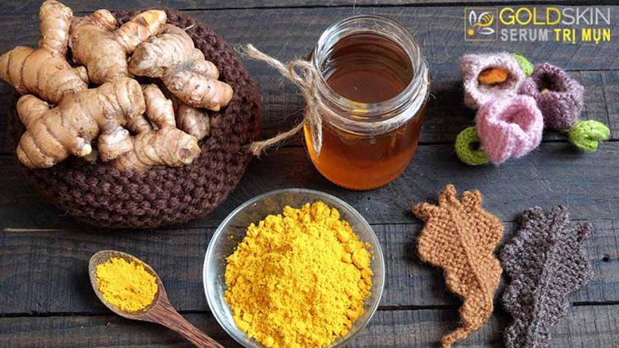 Công thức mật ong và nghệ