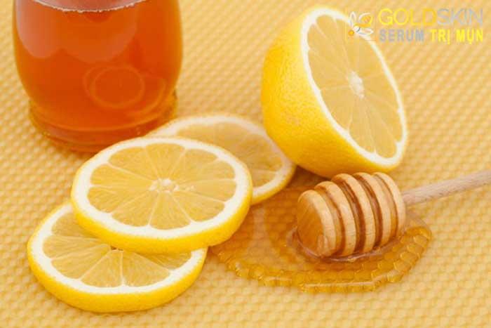 Nước cốt chanh kết hợp với mật ong