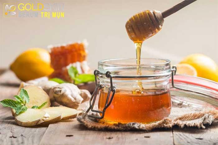 Mặt nạ trị mụn ẩn từ mật ong nguyên chất