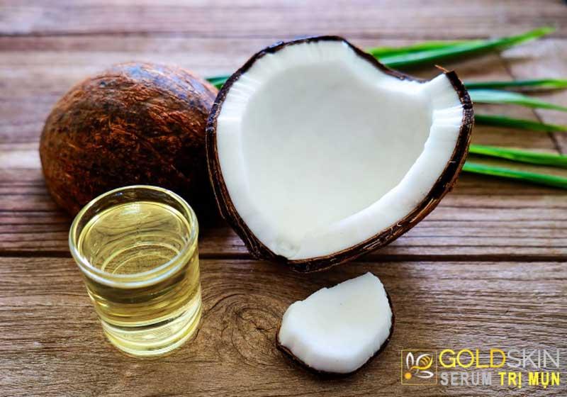 Dầu dừa – biện pháp trị mụn ẩn nổi tiếng của các chị em phụ nữ
