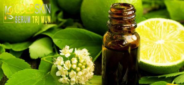 Chanh chứa nguồn vitamin C dồi dào có công dụng làm ức chế dầu thừa, khô cồi mụn