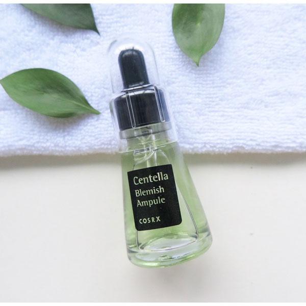 Serum trị mụn trắng da Centella Blemish Ampule của thương hiệu Cosrx