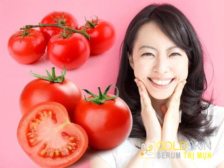 Thành phần trong cà chua có thể hỗ trợ cho việc điều trị các mụn đầu đen ở trên da