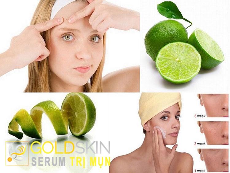 Chanh chứa nhiều thành phần vitamin C giúp sát khuẩn tốt