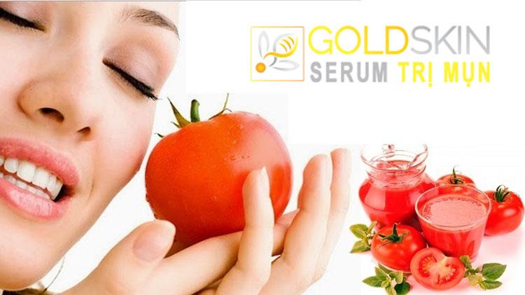 Cách điều trị mụn đầu đen da dành cho cả nam và nữ tại nhà bằng cà chua là phương pháp trị mụn rất hiệu quả