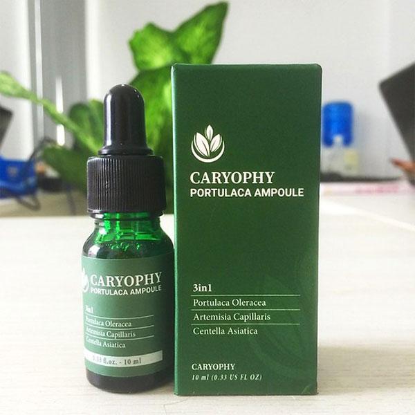 Serum trị mụn ẩn Caryophy Portulaca Ampoule