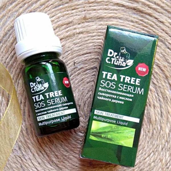 Trị mụn cấp tốc với Farmasi Dr. C.Tuna Tea Tree SOS