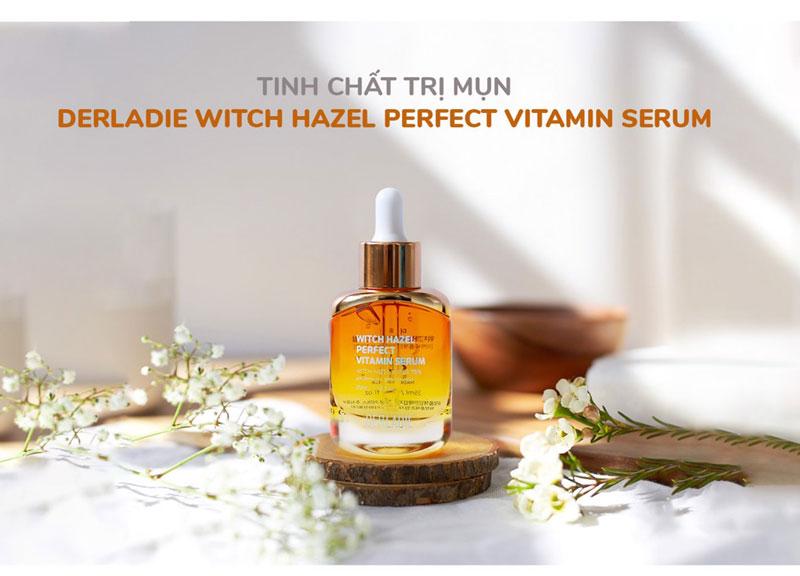 Serum trị mụn Serum DerLadie Witch Hazel Perfect Vitamin