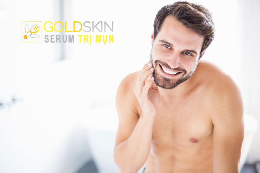 Serum trị mụn trắng da cho nam giới có thật sự hiệu quả hay không?