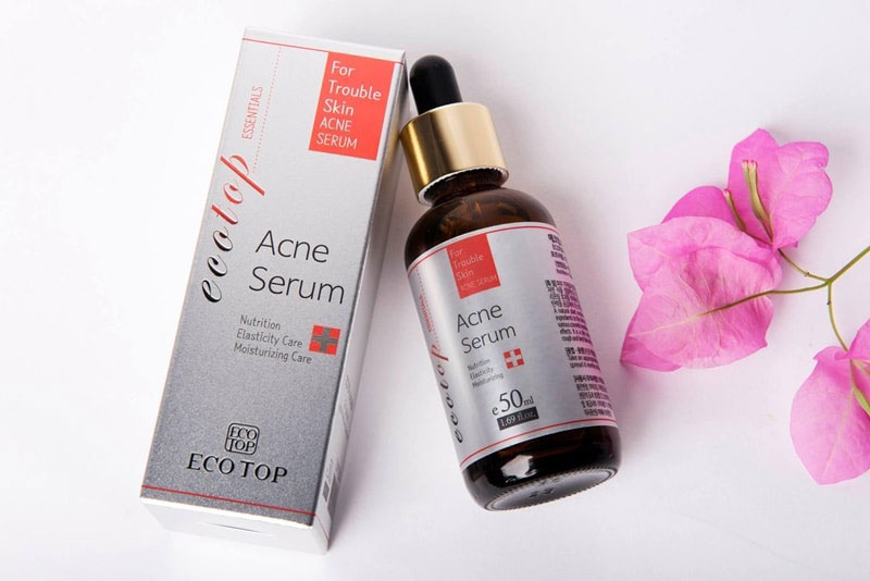 Serum trị mụn đầu đen Ecotop Acne Serum