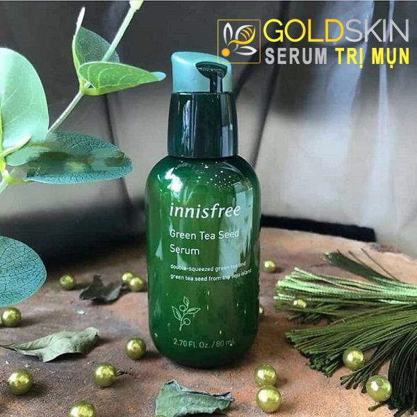 Serum trị mụn The Green Tea Seed của thương hiệu Innisfree