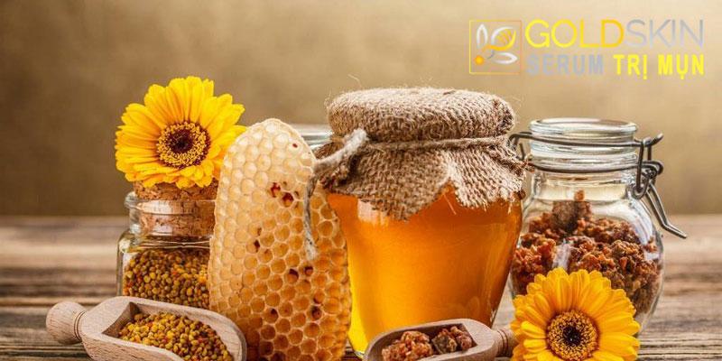 Mật ong có chứa nhiều kháng thể giúp kháng viêm
