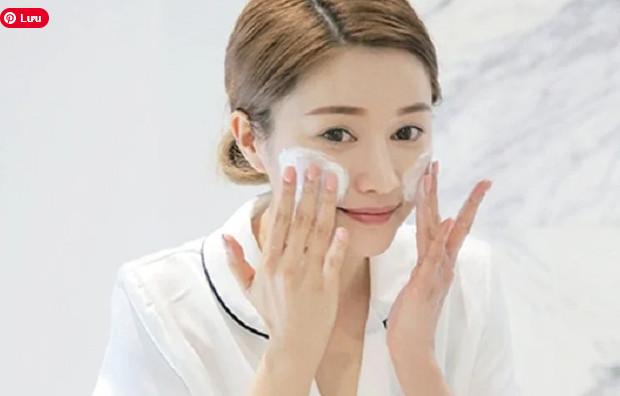 Phương pháp rửa mặt cho da mụn